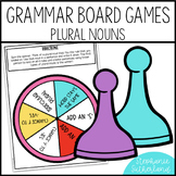 Grammar End of Year Review: Plural Nouns Board Game