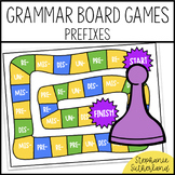 Grammar End of Year Review: Prefixes Board Game