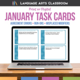 Grammar and Writing Errors: Bell Ringers for January Language Arts Activity