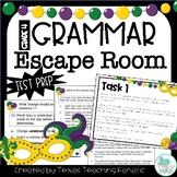 Grammar Escape Room Mardi Gras