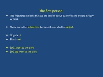 Grammar Essentials : Pronouns (basic)