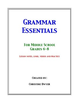 Grammar Essentials for Middle School