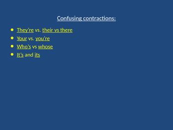 Grammar Essentials part 2-Apostrophes
