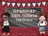 Grammar Exit Tickets II