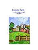 Grammar Farm - Parts of Speech Activity
