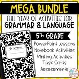 Grammar Fifth Grade Activities: Year-Long BUNDLE