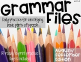 Grammar Files: August/September Edition DIGITAL INCLUDED!