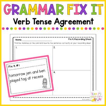 Verb Tense Practice