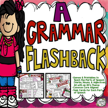 Grammar Parts of Speech Games and Printables Covering Noun