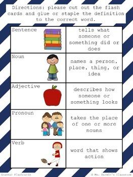 Grammar Flashcards
