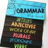 Grammar Flip Book (Editable)