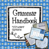 Grammar Handbook with Digital Notebook Option
