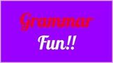 Grammar Fun!
