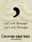 Grammar Fun Wall Art!