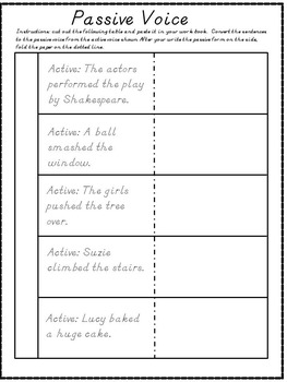 The Passive Voice - Grammar for ESL Adults or Mature Learners