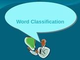 Grammar Fun - Word classifications