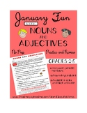 New Year Grammar Practice: Nouns & Adjectives (Gr. 2-5)