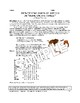 """Grammar Fun: Parts of Speech in """"Home on the Range"""" (2 Pag"""