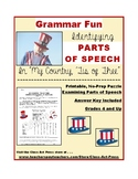 "Grammar Practice: Parts of Speech: ""My Country 'Tis of The"