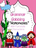Grammar Gabbing: Homophone Interactive Notebook -- Fairy T