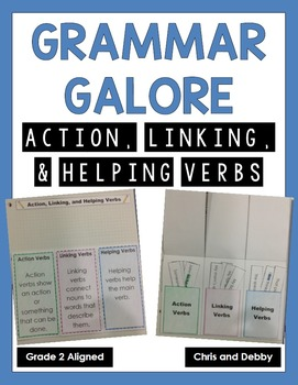 Action, Linking, and Helping Verbs Interactive Grammar Practice