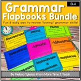 Parts of Speech | Grammar Bundle | 10 Flap books & Assessments