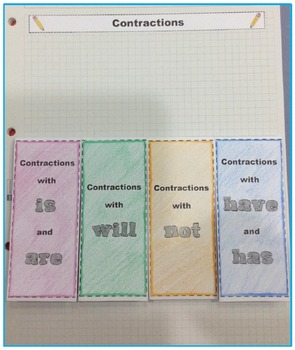 Contractions Interactive Grammar Practice