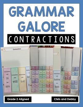 Contractions Interactive Grammar Practice