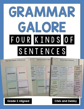 Four Kinds of Sentences Interactive Grammar Practice