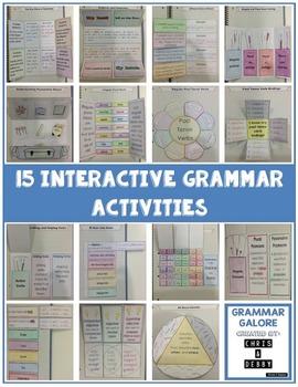 2nd Grade Interactive Grammar BUNDLE!