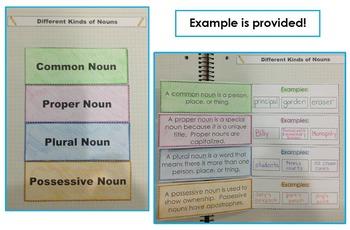 Nouns Interactive Grammar Practice