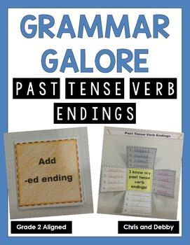 Past Tense Verb Endings Interactive Grammar Practice