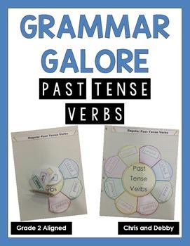 Past Tense Verbs (-ed) Interactive Grammar Practice