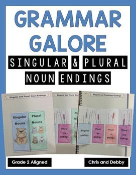 Singular and Plural Noun Endings Interactive Grammar Practice