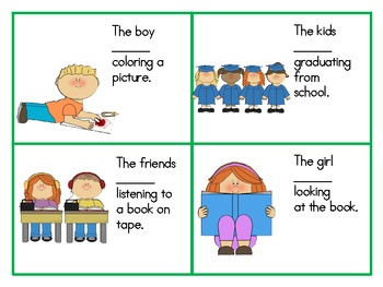 Grammar Galore Sentences-pronouns, past tense, present tense Speech Therapy