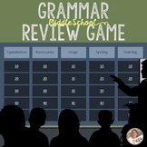 Grammar Review Game-Middle School/Great for beginning of t