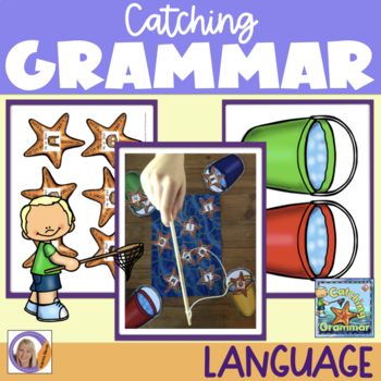 Grammar Game: Catching Grammar for speech and language therapy