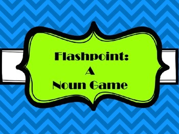 Grammar Game: Nouns