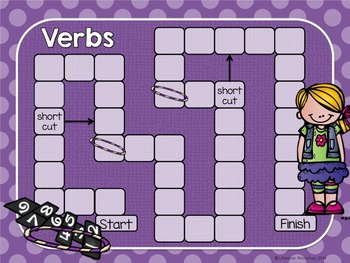 Action Verbs Game