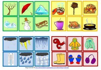 Grammar Game - Winter Theme