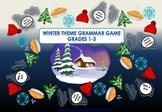 Grammar Game - Winter Theme