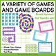 5th Grade Grammar Games Bundle Set 2 | 5th Grade Grammar Centers Set 2