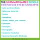 5th Grade Grammar Games Bundle Set 3 | 5th Grade Grammar Centers Set 3