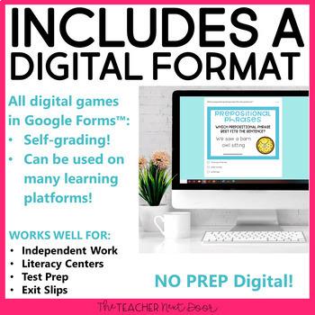 4th Grade Grammar Games Bundle | 4th Grade Grammar Centers