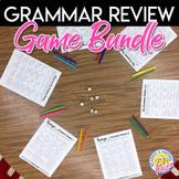 Grammar Games Bundle for Practice and Review Activities Grades 7 - 12