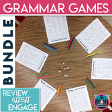Grammar Games Bundle for Grades 6-12