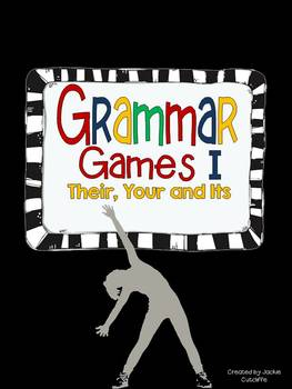 Grammar Games I: Their, Your & Its