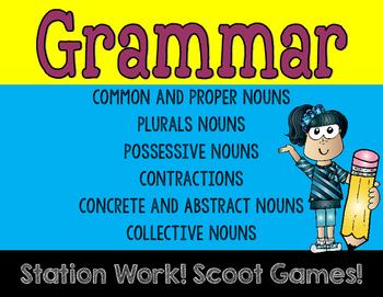 Grammar Games Set 1
