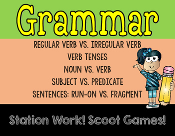 Grammar Games Set 2