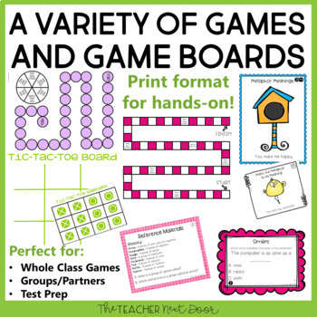 Grammar Games Set 3 for 4th Grade | Grammar Centers Set 3 for 4th Grade